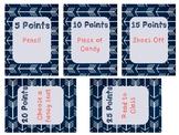 Class Dojo Prize Store Labels