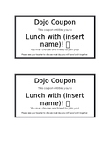 Class Dojo Reward Coupons and Store Order Forms