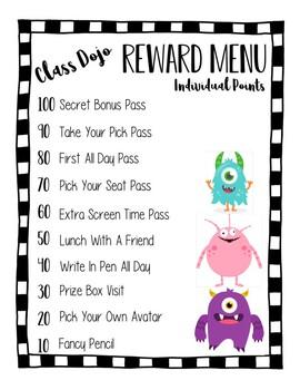 Class Dojo Reward Kit