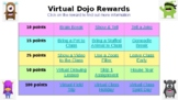 Class Dojo Reward List (Editable) Compatible with PowerPoint/Slides