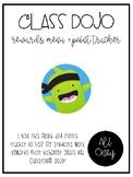 Class Dojo Reward Menu - FREEBIE