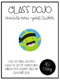 Class Dojo Reward Menu - FREEBIE