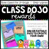 Class Dojo Reward Passes