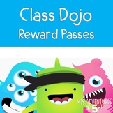 Class Dojo Reward Passes FREE