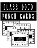 Class Dojo Reward Punch Cards