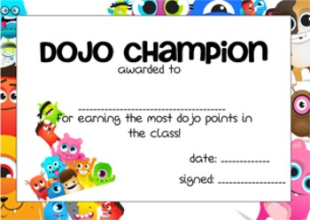 Class Dojo Reward Pack