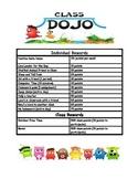 Class Dojo Reward System