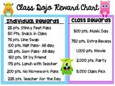 Class Dojo- Rewards