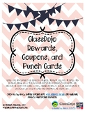 Class Dojo Rewards, Coupons, and Punch Cards