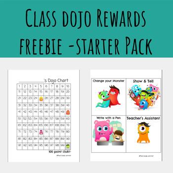 Class Dojo Rewards Freebie - Starter Pack