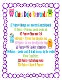 Class Dojo Rewards Incentive Poster (Special Request)