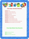 Class Dojo Rewards Poster