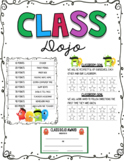 Class Dojo Rewards and Certificates