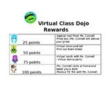 Class Dojo Rewards for Distance Learning