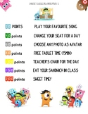Class Dojo Rewards points