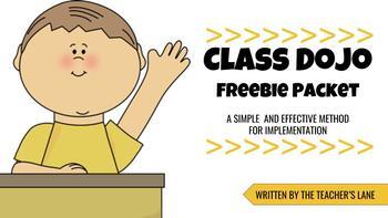 Class Dojo Simple Implementation Idea Packet