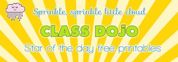 Class Dojo Star of the day { Free } Award Certificates