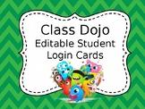 Class Dojo Student Login *FREEBIE*