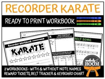 Class Dojo-Themed Recorder Karate Book