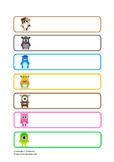 Class Dojo Tray / Drawer Labels