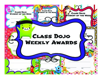 Class Dojo Weekly Awards