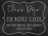 Class Dojo for Middle School
