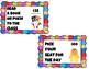 Class Dojo theme classroom rewards cards