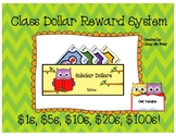 Class Dollars and Wallet- Owls