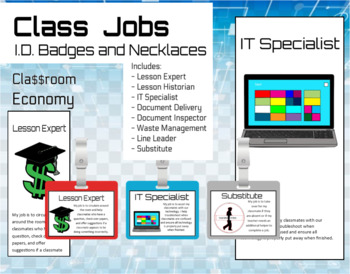 Class Economy Job ID Badges and Labels