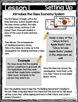 Free Class Economy Set for Classroom Management