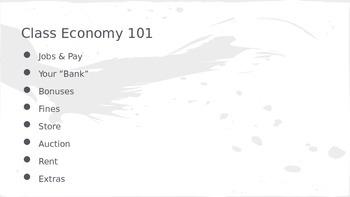 Class Economy - Student Friendly