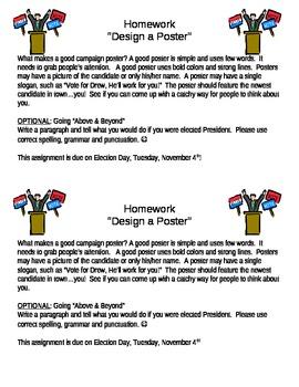 Class Election Homework