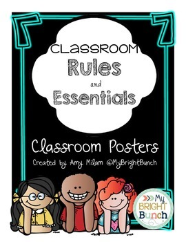 Class Essentials and Rules Posters
