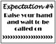 Class Expectation Posters