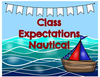 Class Expectations Nautical
