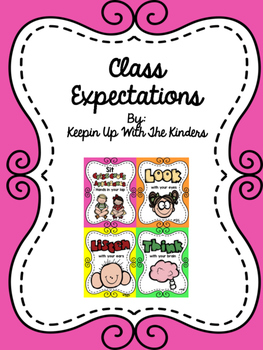 Class Expectations Posters!