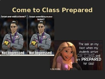 Class Expectations PowerPoint