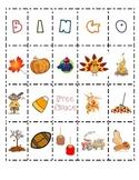 Class Fall Bingo Boards