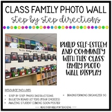 Class Family Photo Wall Step By Step Directions