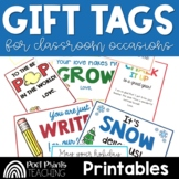 Classroom Labels and Gift Tags