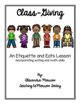 Class-Giving: A Thanksgiving Project