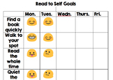 Whole Class Goal Setting for Read to Self
