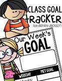 Class Goal Tracker