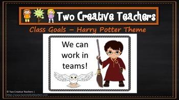 Class Goals Harry Potter Theme