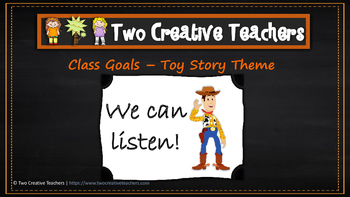 Class Goals Toy Story Theme