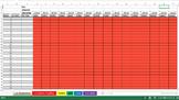 Class Gradebook Excel Spreadsheet
