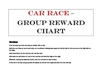 Class Group Reward - Car Race - WIN THE TROPHY OF THE DAY