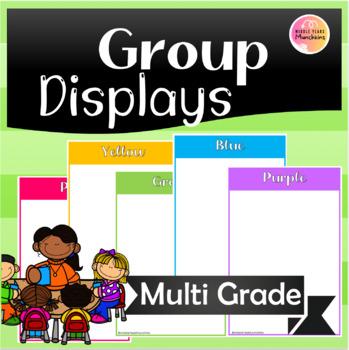 Class Groups Display