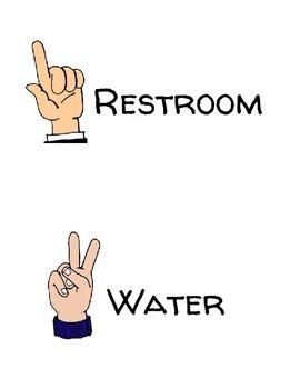 Class Hand Signals