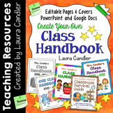 Class Handbook (Editable Files to Customize)